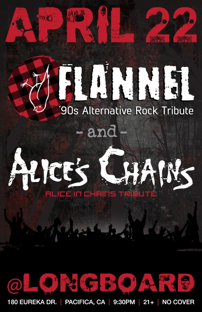 Flannel-Alices-Chains-Longboard_11x17